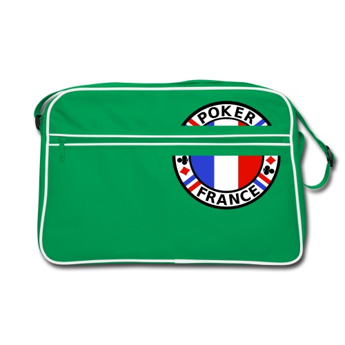 poker france - Retro Bag