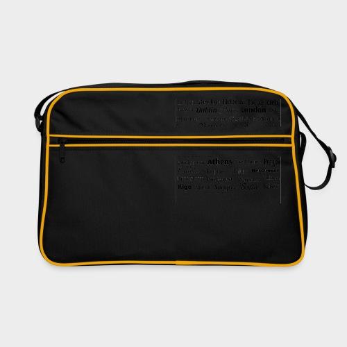 European capitals - Retro Bag
