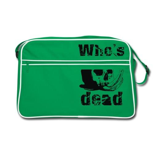 Who's dead - Black - Borsa retrò