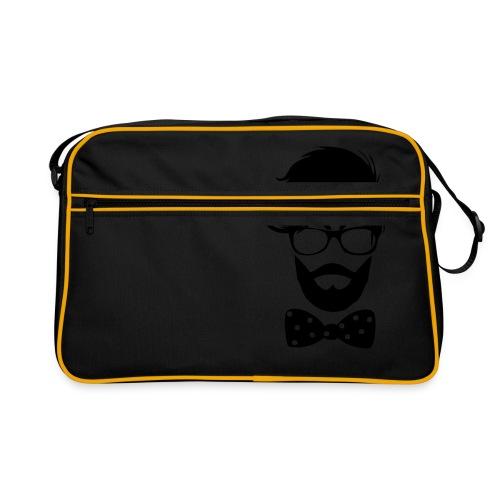 hipster_med_briller_og_butterfly - Retro taske