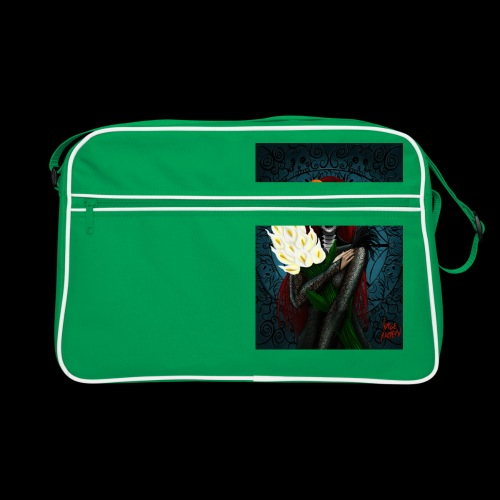 Death and lillies - Retro Bag