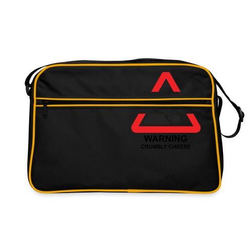 WARNING: CRUMBLY CHEESE - Retro Bag