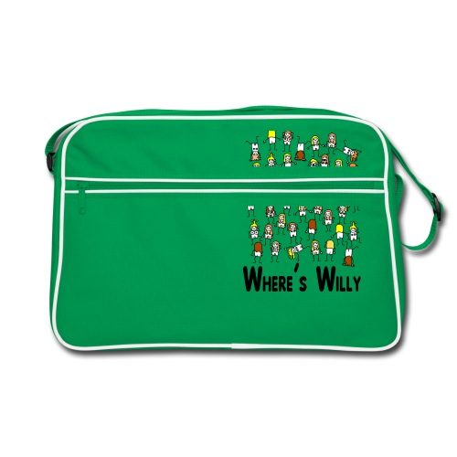 Where's willy - Retro Bag