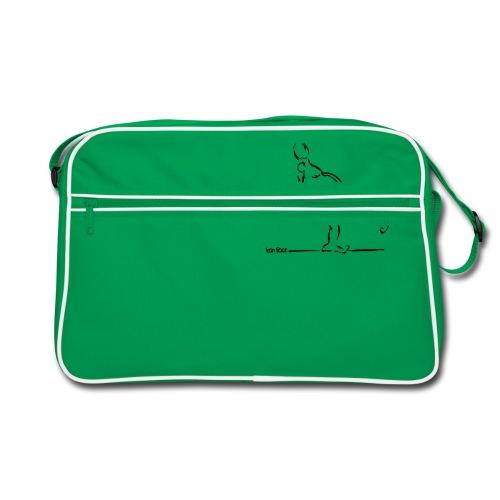 Lean Back Doodle - Retro Bag