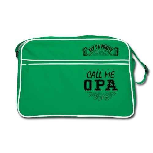 My Favorite People Call Me Opa - Retro Bag