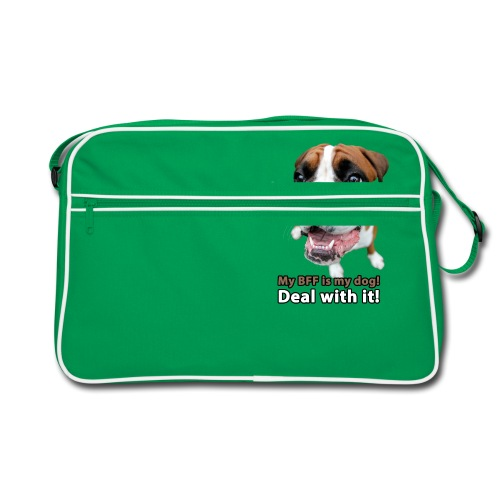 MY Best Friend Forever is my dog! - Retro Bag