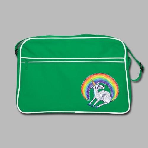 Reluctant Rainbow - Retro Bag