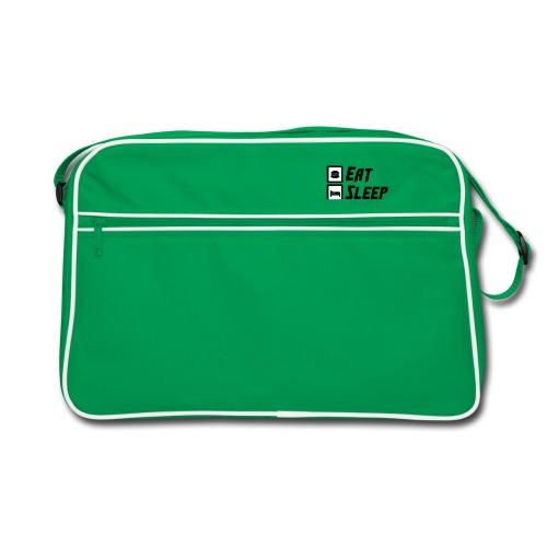 Eat Sleep Gym Repeat Tank Top - Retro Bag