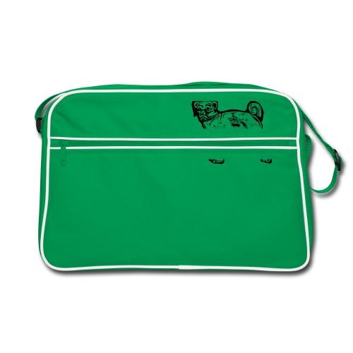 Pug Dog - Retro Bag