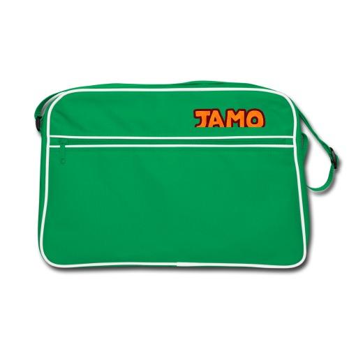 JAMOLP Logo T-shirt - Retro taske