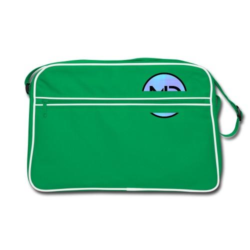 MD Blue Fibre Trans - Retro Bag