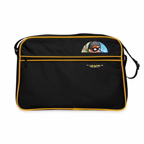 Robbery Bob Button - Retro Bag