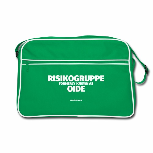 RISIKOGRUPPE formerly known as OID - Retro Tasche