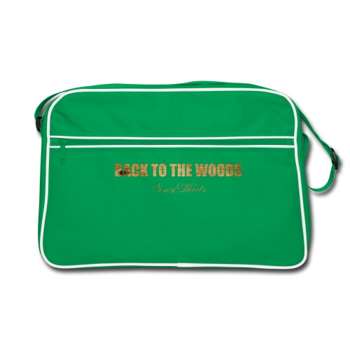 back to the woods - Retro Tasche