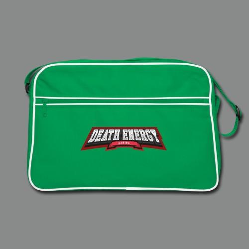Death Energy Logo Schrift - Retro Tasche