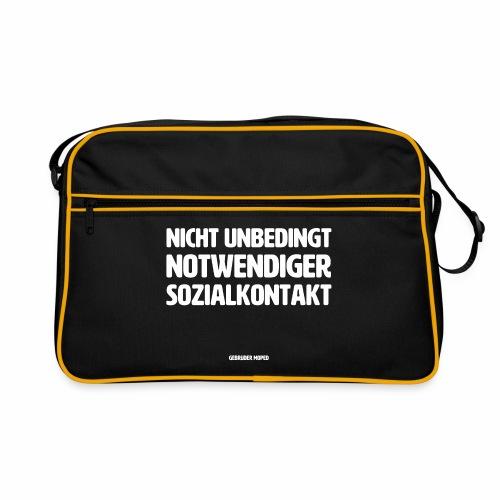 Sozialkontakt - Retro Tasche