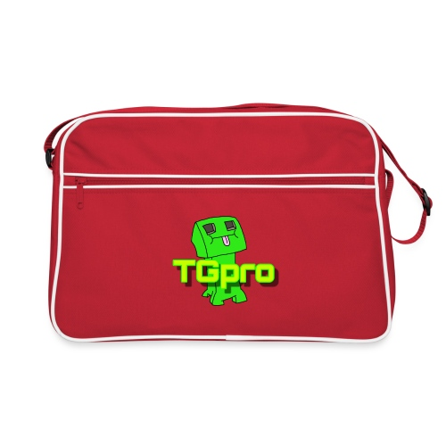 TGpro Creeper logo - Retro Bag
