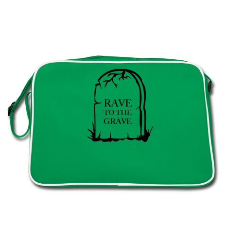 Rave to the Grave - Retro Bag