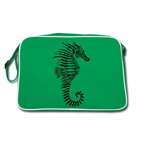 Alien Seahorse Invasion - Retro Bag