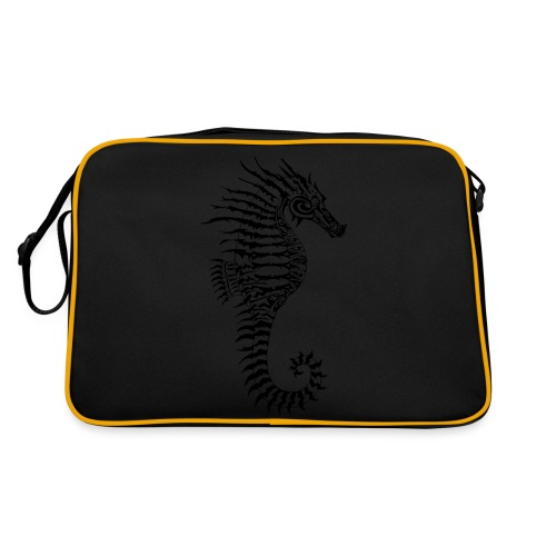Alien Seahorse Invasion - Retro Bag