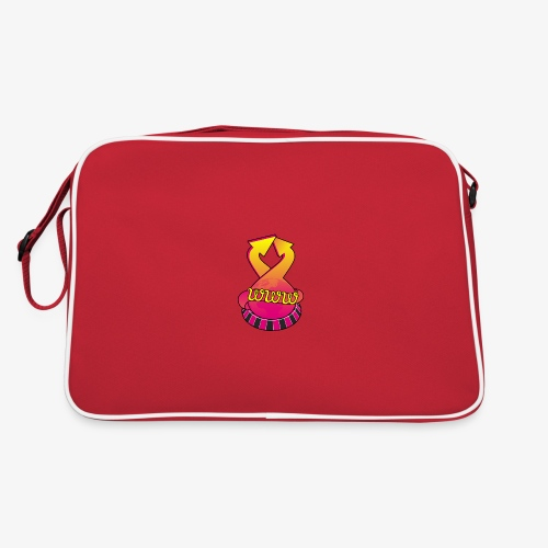 UrlRoulette logo - Retro Bag