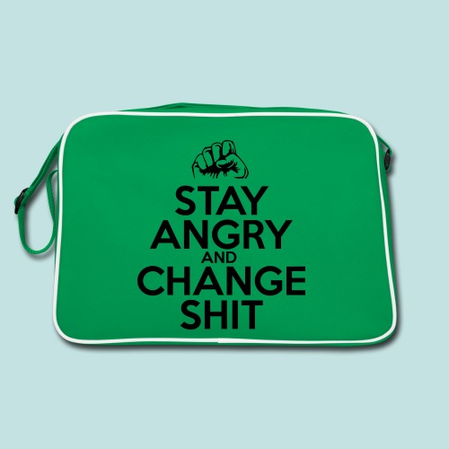 Stay Angry - Retro Bag