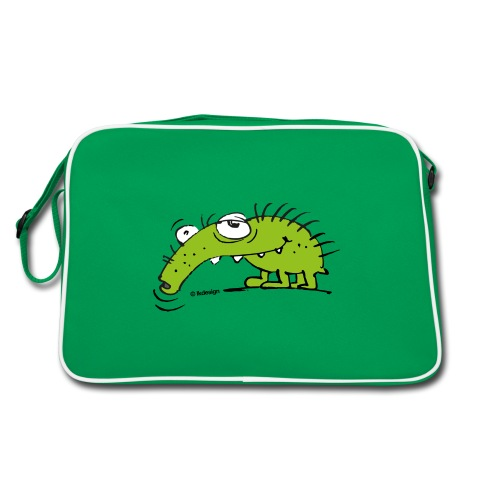 Grüner Rüsselkäfer - Retro Tasche