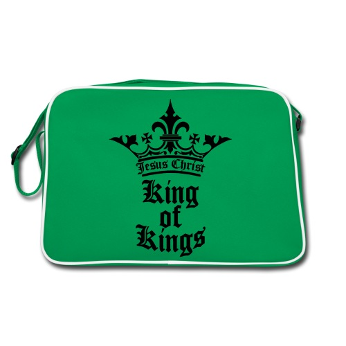 king_of_kings - Retro Tasche