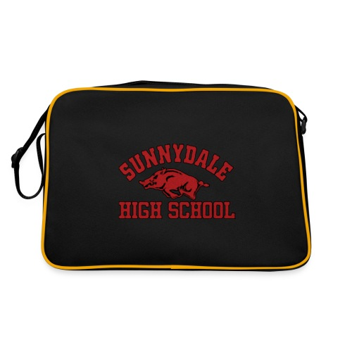 Sunnydale High School logo merch - Retro-tas