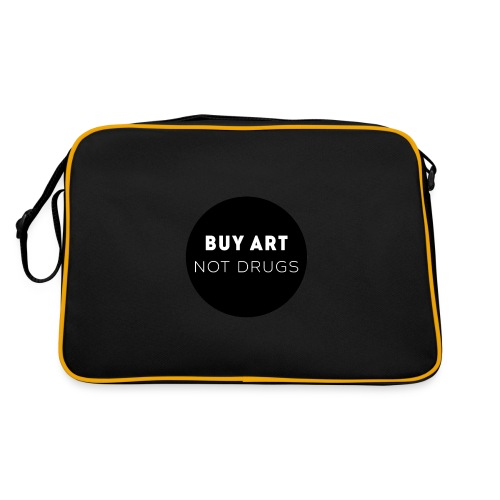 Buy Art Not Drugs - Retrolaukku