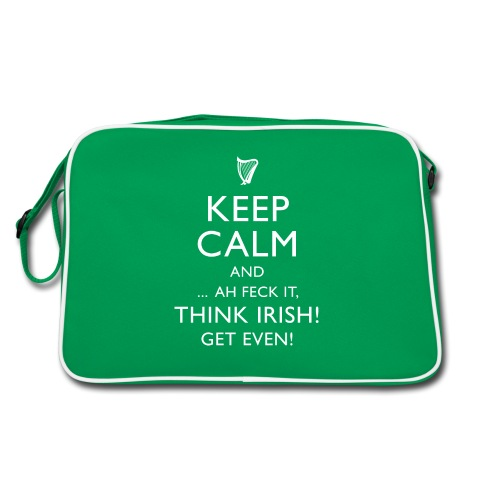 Keep Irish - Retro Tasche