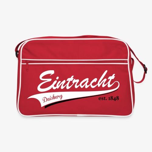 Baseball EDU 2farbig - Retro Tasche