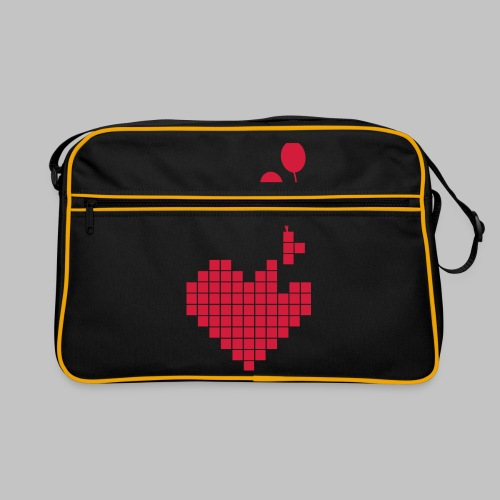 heart and balloons - Retro Bag