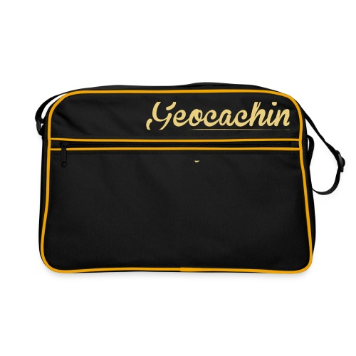 Geocaching - Face the Challenge - Retro Tasche