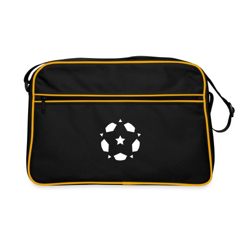 Star of the Beautiful Game vector large - Retro Bag
