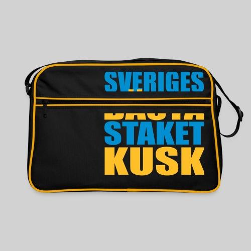 Sveriges bästa staketkusk! - Retroväska