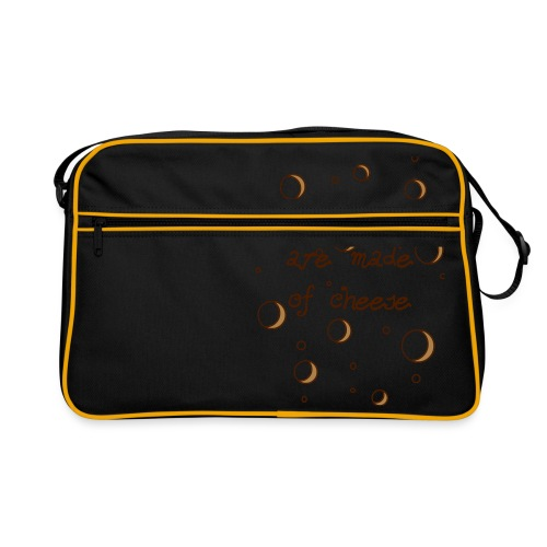 02_sweet dreams are made of cheese - Retro Tasche