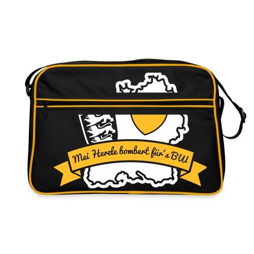 Herzle BW - Retro Tasche