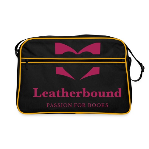 Leatherbound Logo - Retro taske