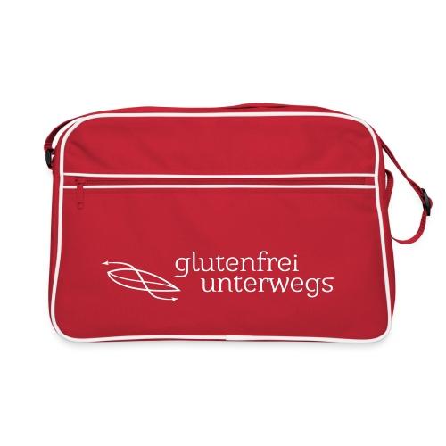glufu weiss3 - Retro Tasche