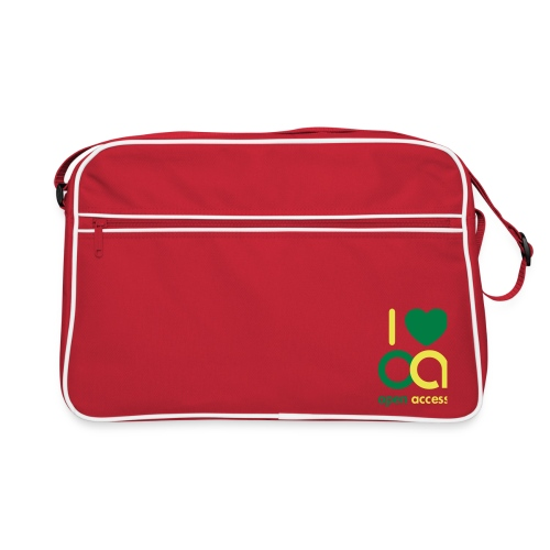 i love oa - Retro Tasche