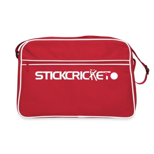 Stick Cricket Logo v - Retro Bag