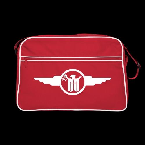 resi und der totenkopf - Retro Tasche