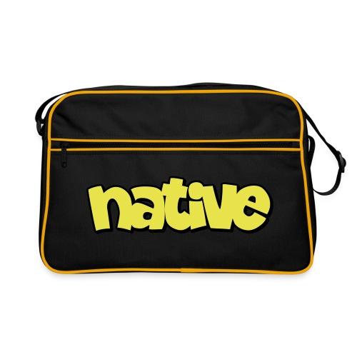 native shadow - Retro Tasche