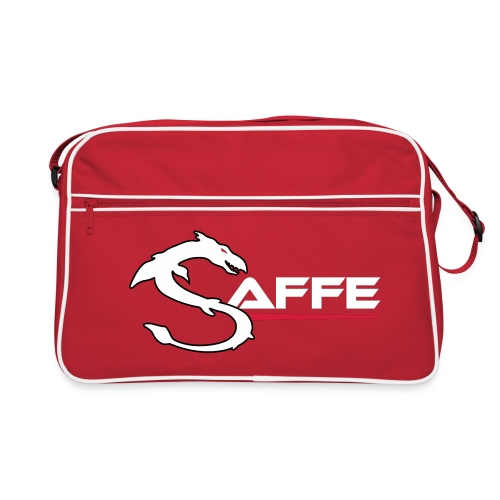 saffe logo - Retro Tasche