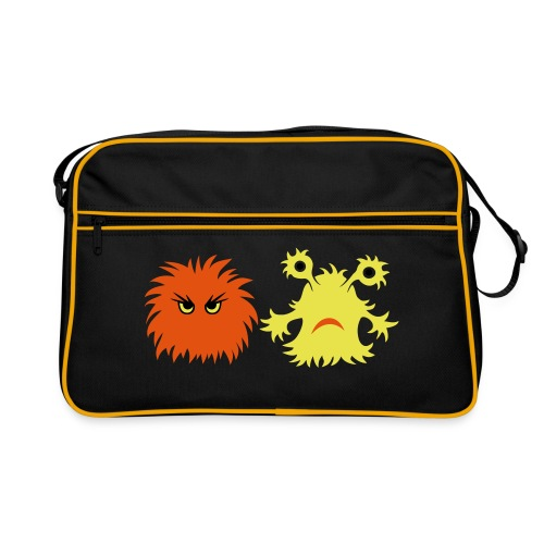 monster friends - Retro Tasche