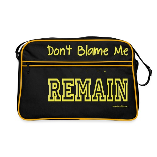 Dont Blame Me - Retro Bag