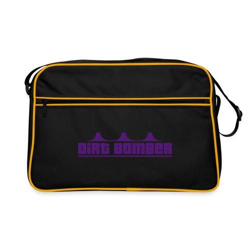 Dirtbomber Logos 0809 - Retro Tasche