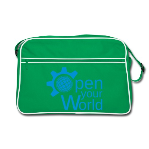 KDE - Open your world - Retro Bag