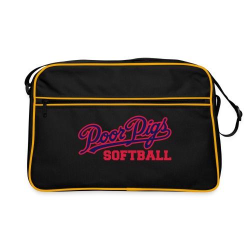 mpp Softball Vektorlogo Simple - Retro Tasche